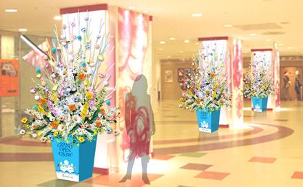 商業施設装花
